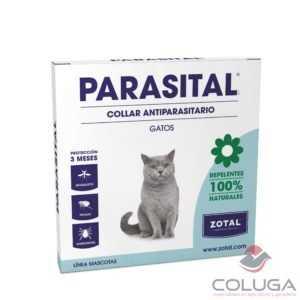 PARASITAL collar antiparasitario gatos