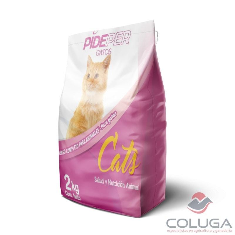 comida para gatos pideper