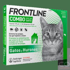 frontline combo gatos y hurones