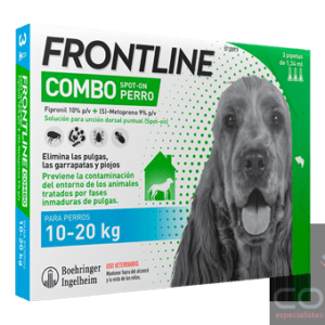 frontline combo perros