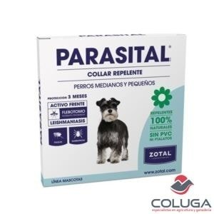 parasital collar perros antiparasitario